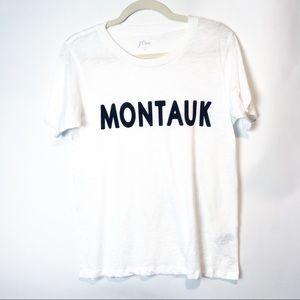 J.Crew Graphic T Shirt MONTAUK